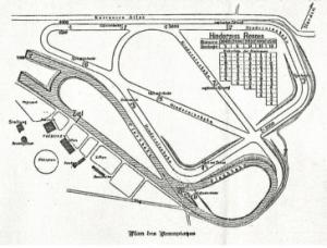 Die erste Streckenführung war ein Flop (Ill.: Düsseldorfer Reiter- und Rennverein)