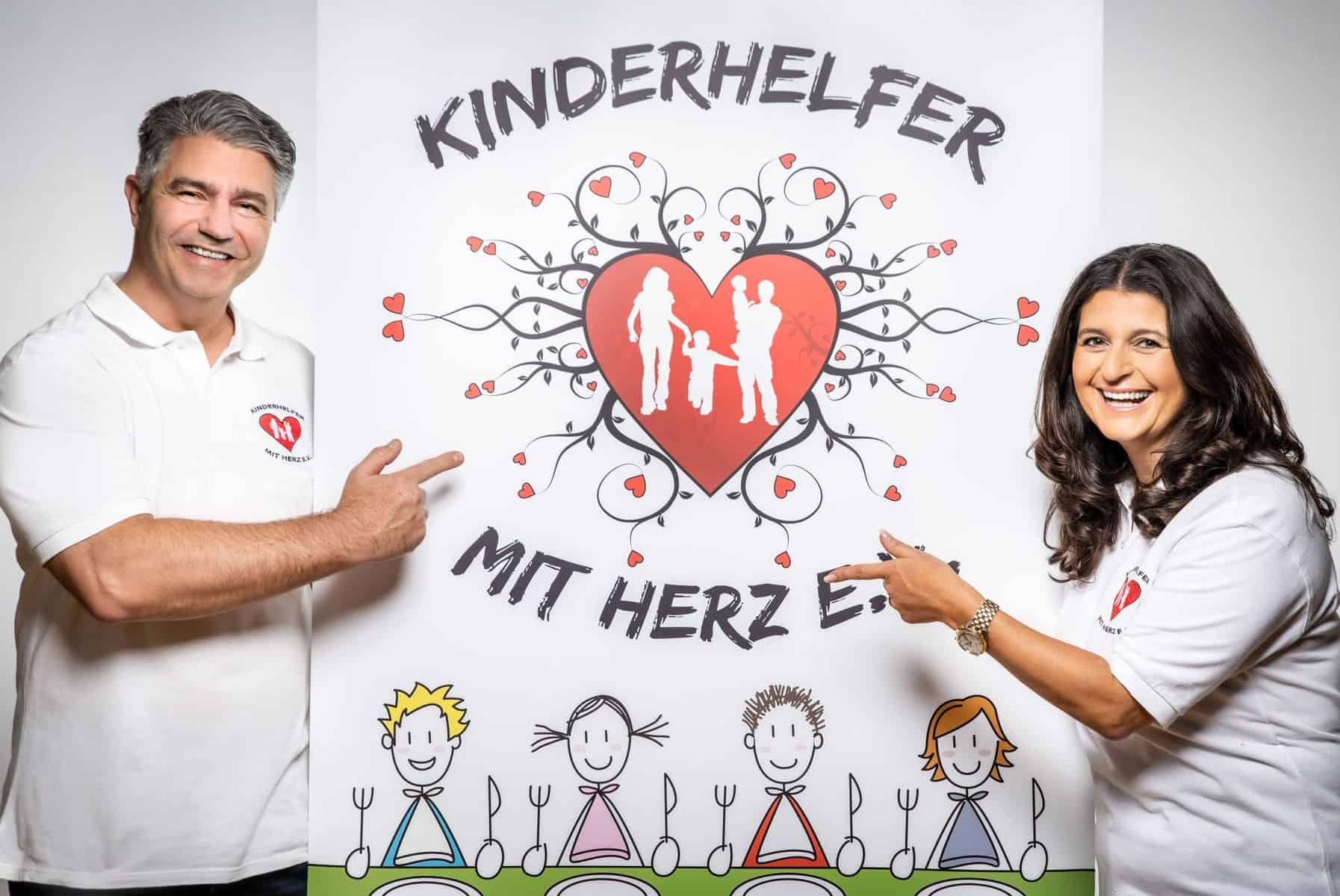 Ein starkes Team sind Christoph Kazmierczak und Claudia Smeets vom Kinderhelfer e.V.(Foto: Kinderhelfer)