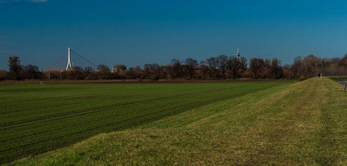 Das weite Land - Blick nach Norden (Foto: Hajo Kendelbacher)