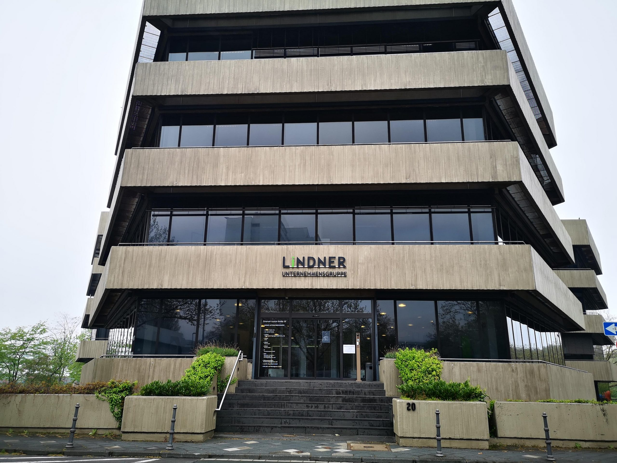 Das Rank-Xerox-Haus am Seestern - Haupteingang (Foto: TD)