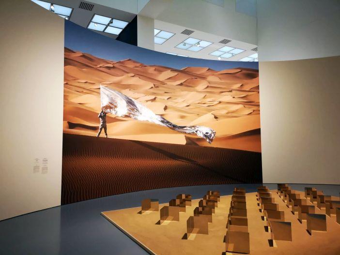 Angemessen gefeiert: Hein Mack und sein Sahara-Projekt (Foto: TD)