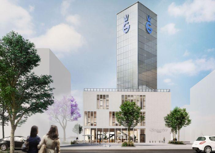 Die Wundertüte unter den neuen Quartieren: Glasmacherviertel in Gerresheim (Illustration: glasmacherviertel.de)