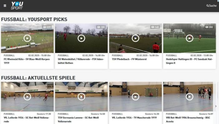 Auch für Amateure: YouSport-Reporter als Analysetool (Screenshot: YouSport)