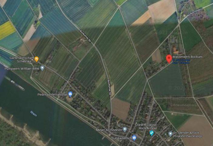 Google-Maps: Das Wasserwerk Bockum