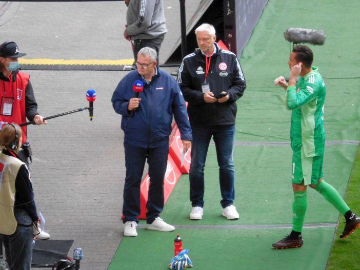 F95 vs SCP: Raffa Wolf redet Klartext im TV (Foto: TD)