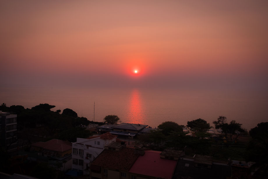 mozambique Maputo sunrise