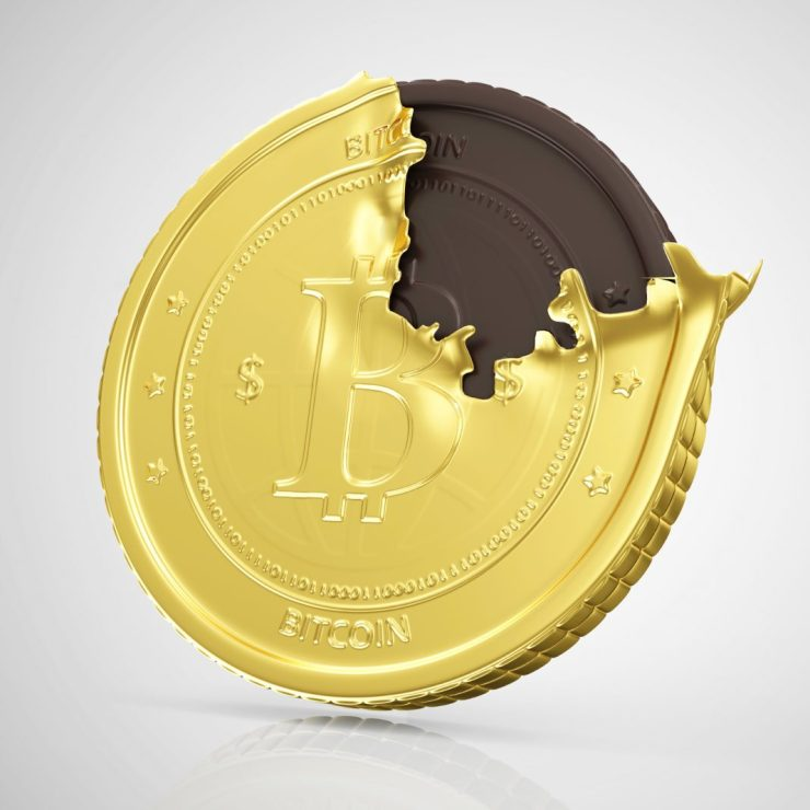 Walmart Would Sell You Chocolate Bitcoins, 6 for 1$