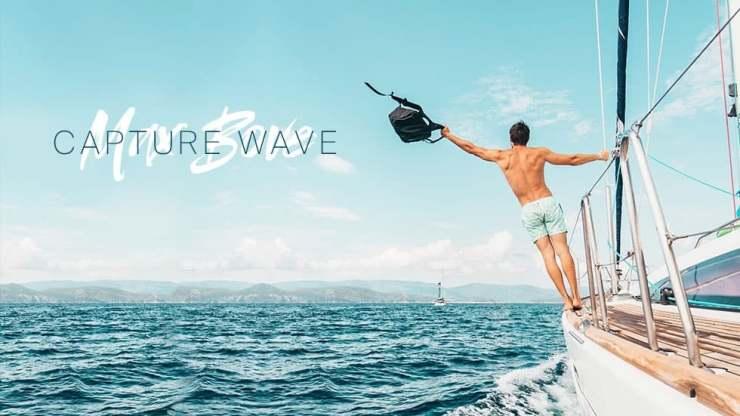 Max Bove Capture Wave Album Cover