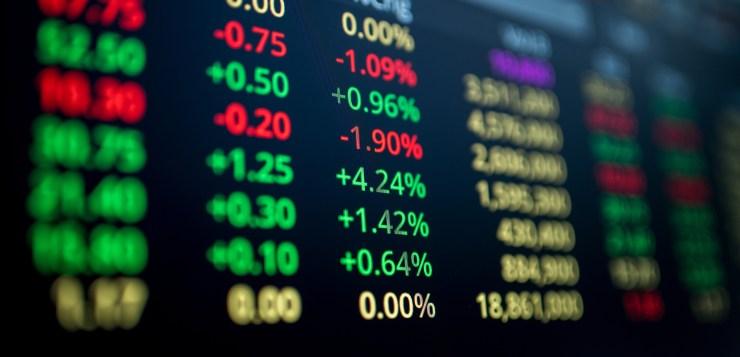 bitcoin price stock market