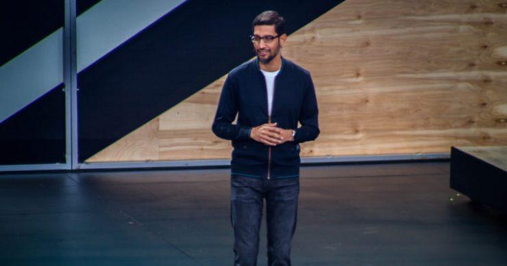 Google CEO Sundar Pichai ethereum