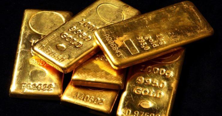 gold bars bitcoin price