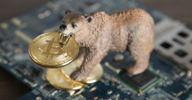 bitcoin price bear market