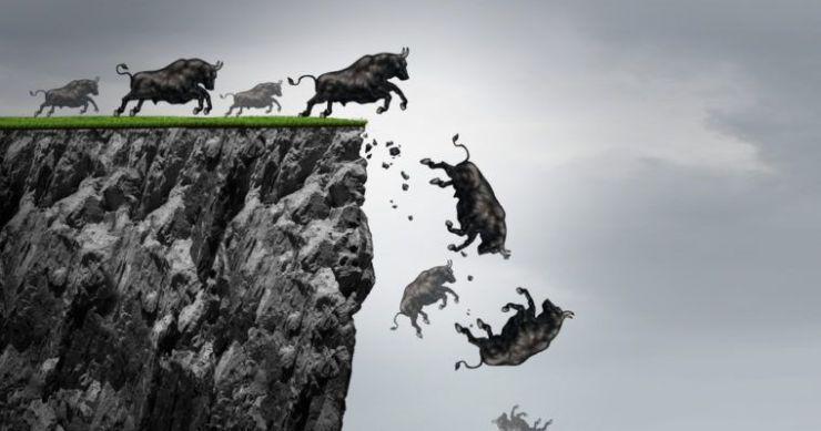 s&P 500 stock market bull cliff