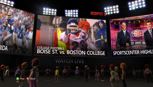 BackStage: ESPN & The Rest of the 2010 XBOX Update