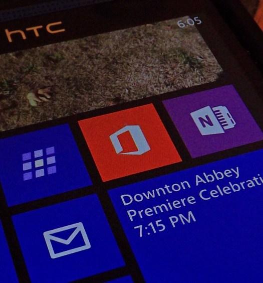 Office on Windows Phone 8