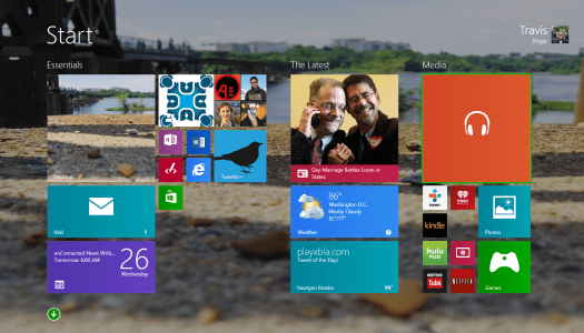 From The Social: The Windows 8.1 Adventure