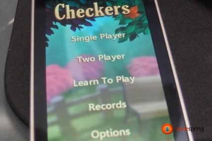 Chess for Zune HD
