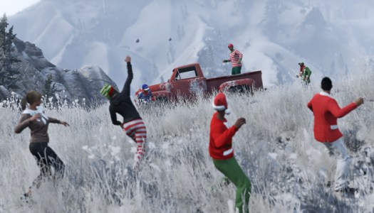 Celebrate with 'Grand Theft Auto 5' and the Festive Surprise update