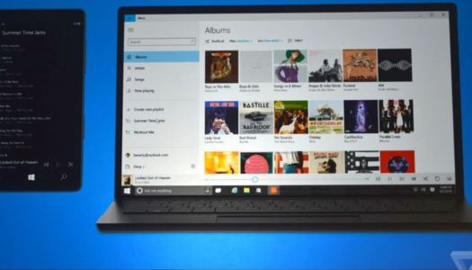 Xbox Music for Windows 10 pictured, OneDrive storage for songs confirmed