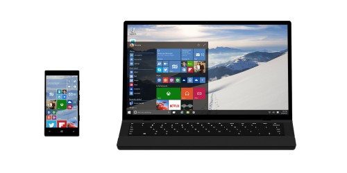This is Windows 10, the new OS for tablets, smartphones, notebooks & Xbox