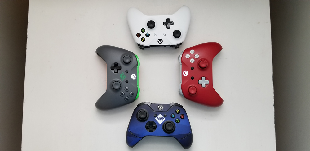 My collection of Xbox Wireless Controllers
