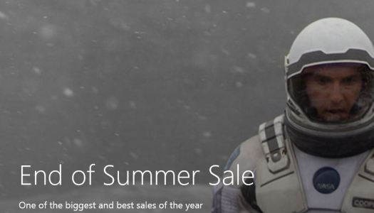Microsoft's End of Summer Sale has movies & TV for cheap