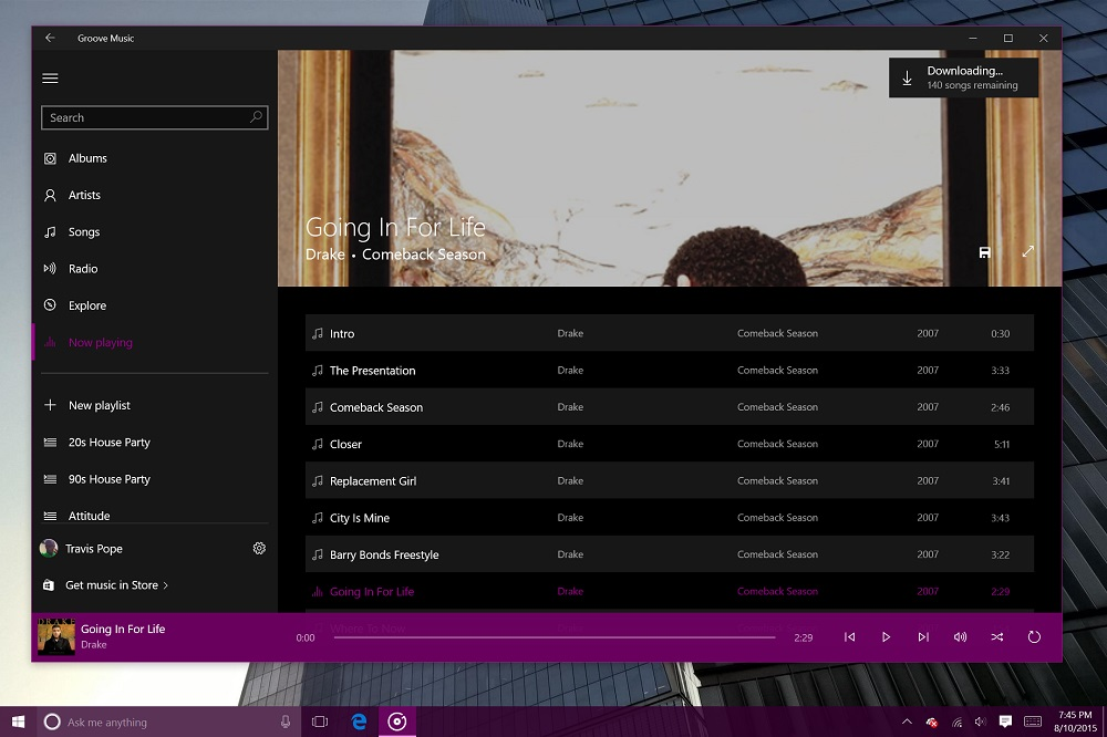 Groove Music for Windows 10 (10)