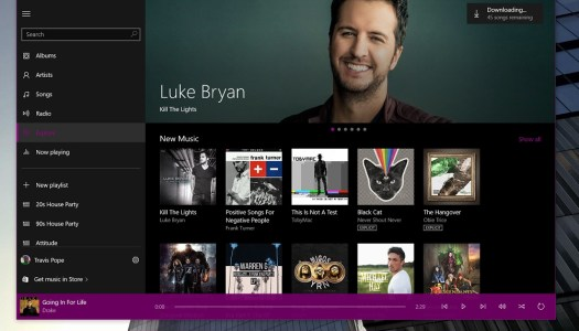 Groove Music for Windows 10 review: An Old Flame with a New Start