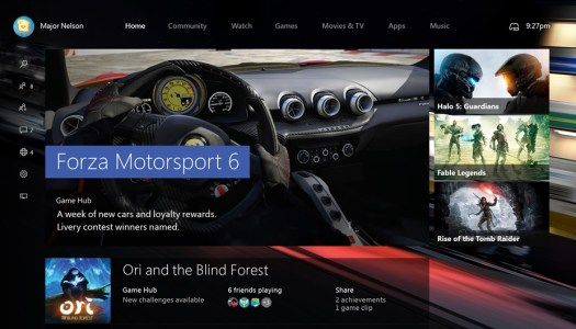 New Xbox One Experience arrives for the lucky