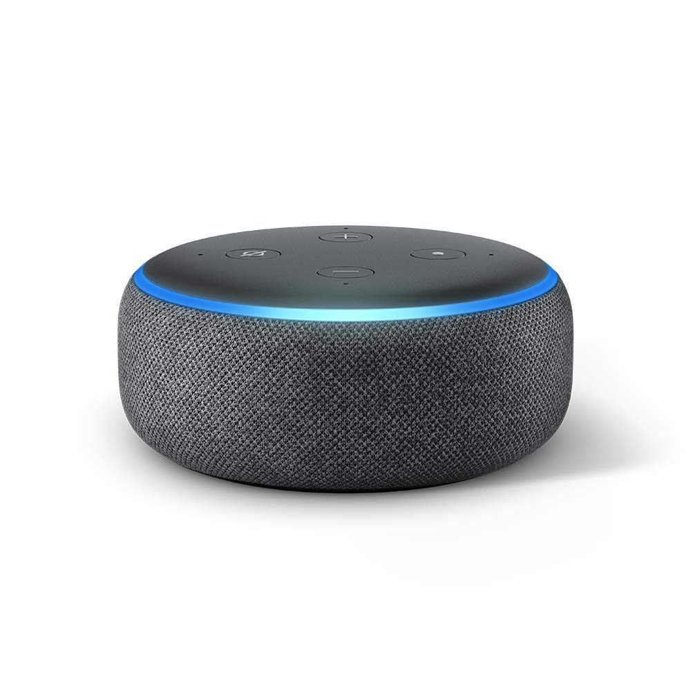 The Amazon Echo Dot.