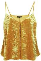 Velvet swing ochre cami top