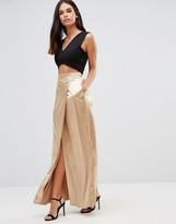Twin Sister Sateen Maxi Skirt
