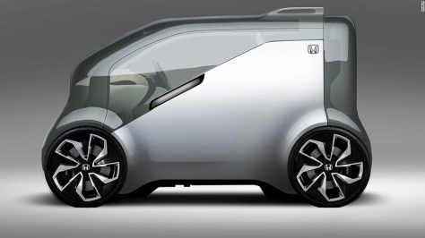 """Honda's NeuV -- an autonomous electric concept car -- will also be unveiled at CES in January. The Japanese automaker plans to showcase its idea of a """"Cooperative Mobility Ecosystem,"""" which will """"combine artificial intelligence, robotics and big data, to transform the mobility experience for the future,"""" the company says."""