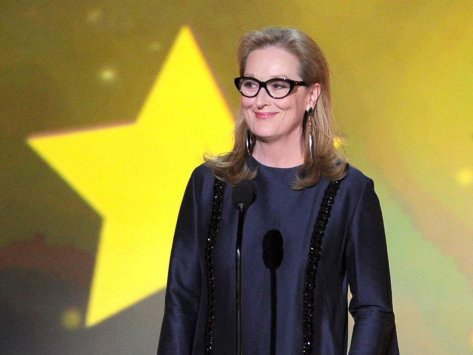 "$825,000 – Meryl Streep, ""The Nix"" (Network TBA)"