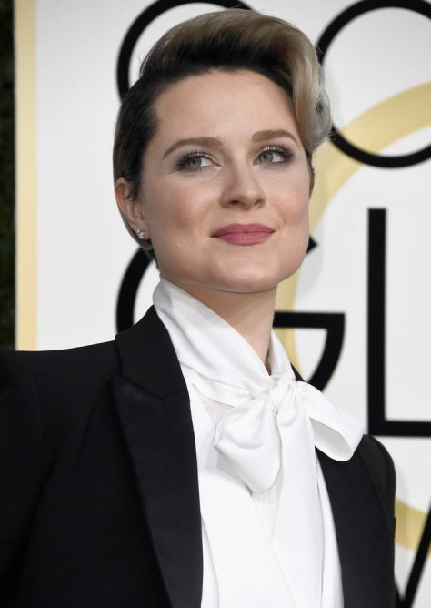 Evan Rachel Wood Ditched a Dress For the Golden Globes — and the Reason Will Rock Your World