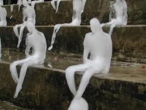 Melting Men (detail), Nele Azevedo