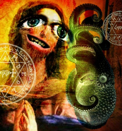 """""""Milanese Soothsayer,"""" illustration by Adam Myers"""