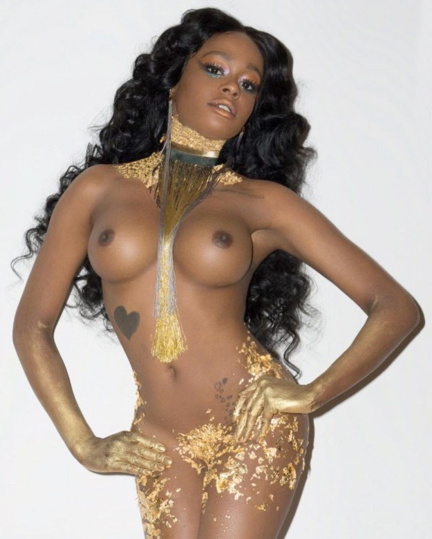 Azealia Banks Full Frontal Nude