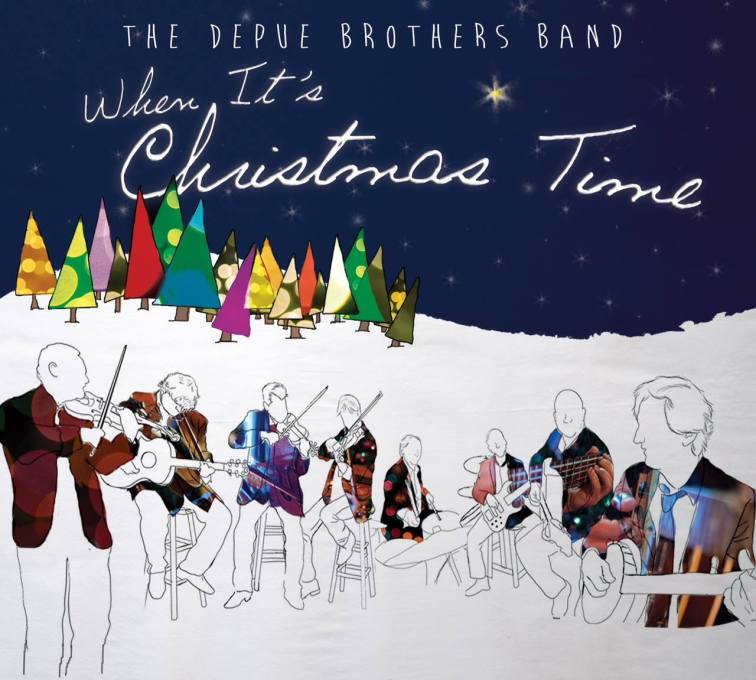 When It's Christmas Time (CD Cover)