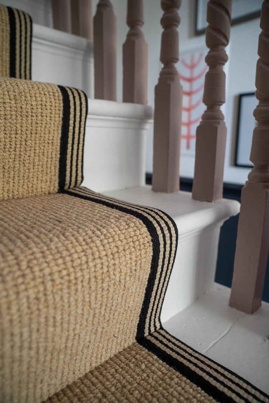 How To Achieve Your Perfect Stair Runner The Frugality   Wool Carpet Runners For Stairs   Flooring   Woven   Rectangular Cord Treads   Stair Country Style   Modern
