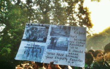 Kaveri Jain- Delhi Rape protests 29 December 2012