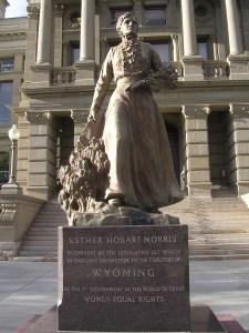 Esther Morris statue (author)