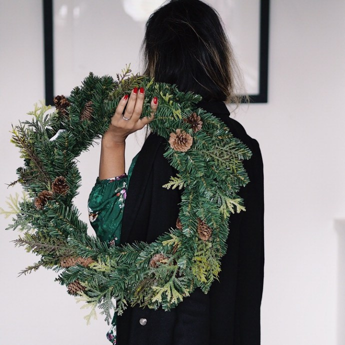 Adulting Christmas Fatima Truscott Christmas Wreath