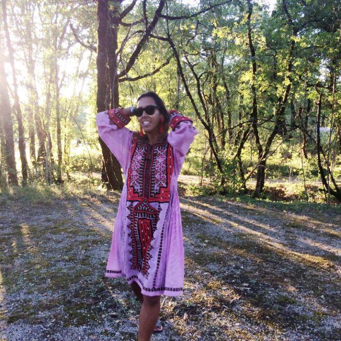 Forage Somerset Balochistani dress