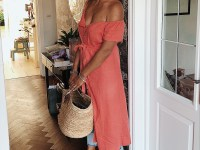The-FT-Times-Blog-JD-Williams-Coral-Linen-Dress-Layered-over-Jeans