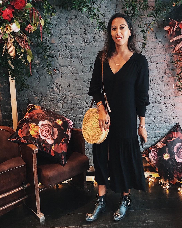 Fatima Truscott Black Summer Dress Wearing black in summer The FT Times Blog