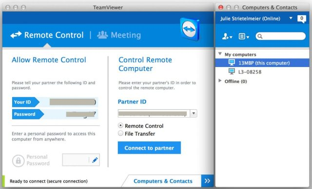 LogMeIn remote control software is no longer free, but TeamViewer is! – The Gadgeteer