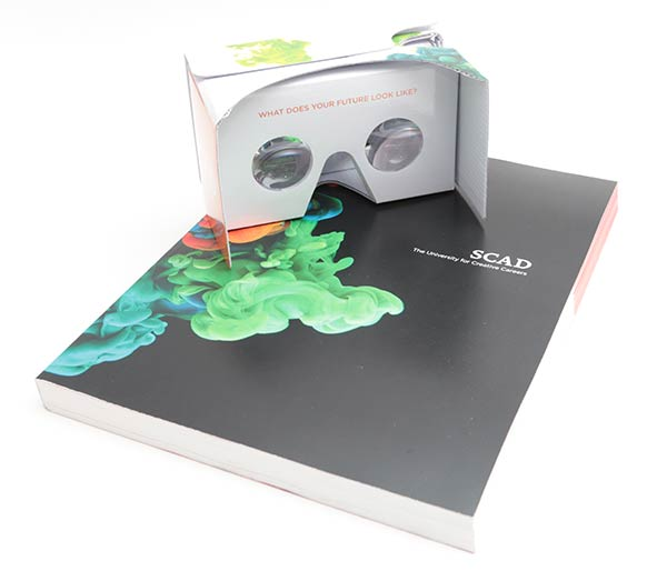 Savannah College of Art and Design (SCAD) are using VR and AR for their course catalog