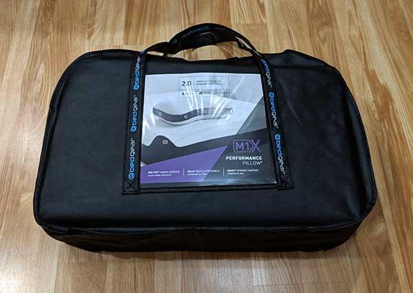 bedgear m1x pillow review the gadgeteer