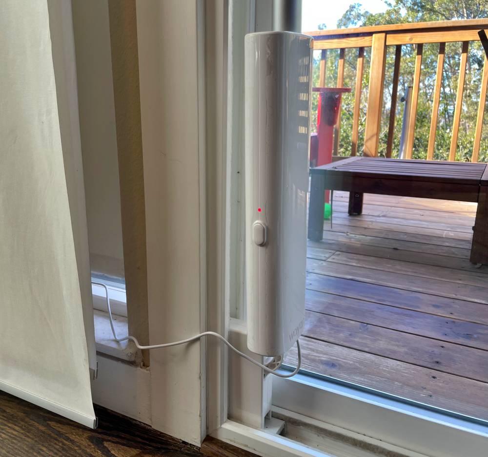 wayzn smart sliding glass door opener